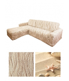Чехол из ткани Bielastico, на угловой диван | L Arricciato VAR608