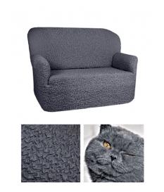Чехол из ткани Микрофибра на 2х-местный диван