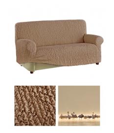 Чехол из ткани  Microfibra на 3х-местный диван