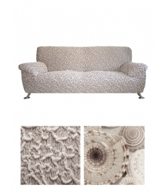Чехол из ткани Jacquard Arabesco на 3х-местный диван