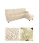 Чехол из ткани  Microfibra на левосторонний угловой диван