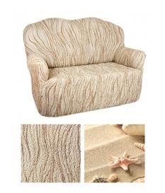 Чехол из коллекционной ткани Bielastico на 3х-местный диван