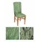 "Чехол на стул, материал Bielastico, дизайн Arricciato,  ""Джунгли""."
