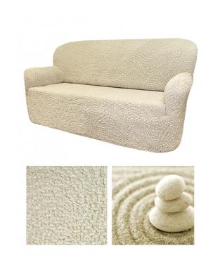 Чехол на 3х-местный диван, материал Jaquard, дизайн Arricciato Onde.