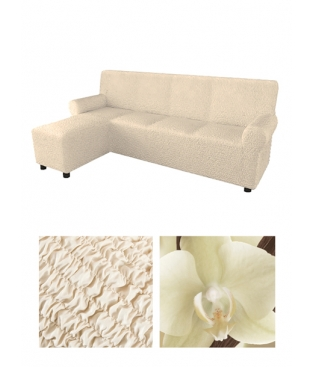 Чехол на левосторонний угловой диван, материал Microfibra
