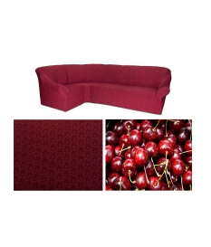 Чехол на угловой диван. Модель: 10821
