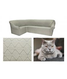 Чехол на угловой диван. Модель: 10031