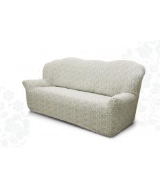Чехол на трехместный диван. Жаккардовая ткань.